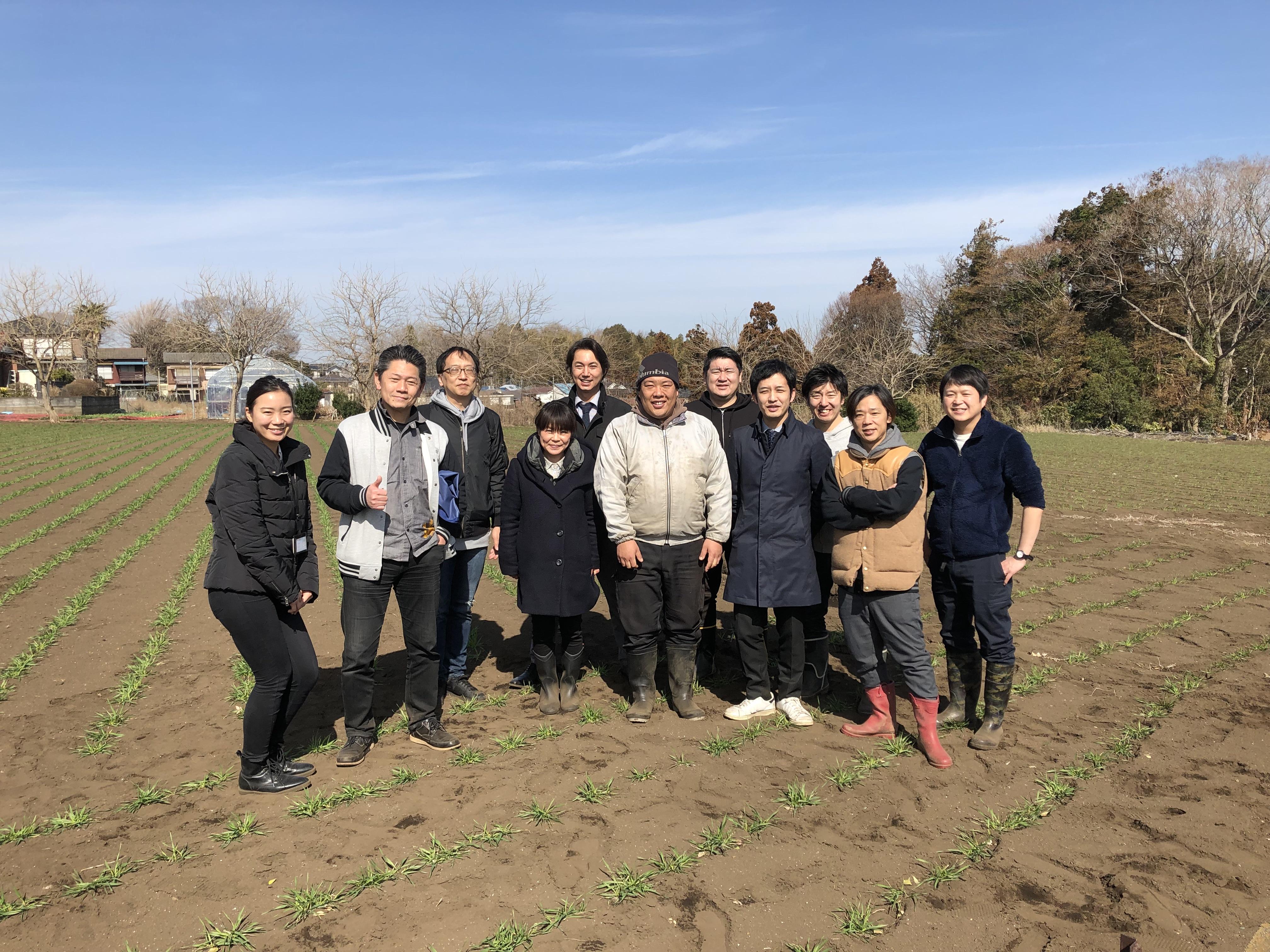瀬谷の小麦栽培の取り組み<麦踏み編>