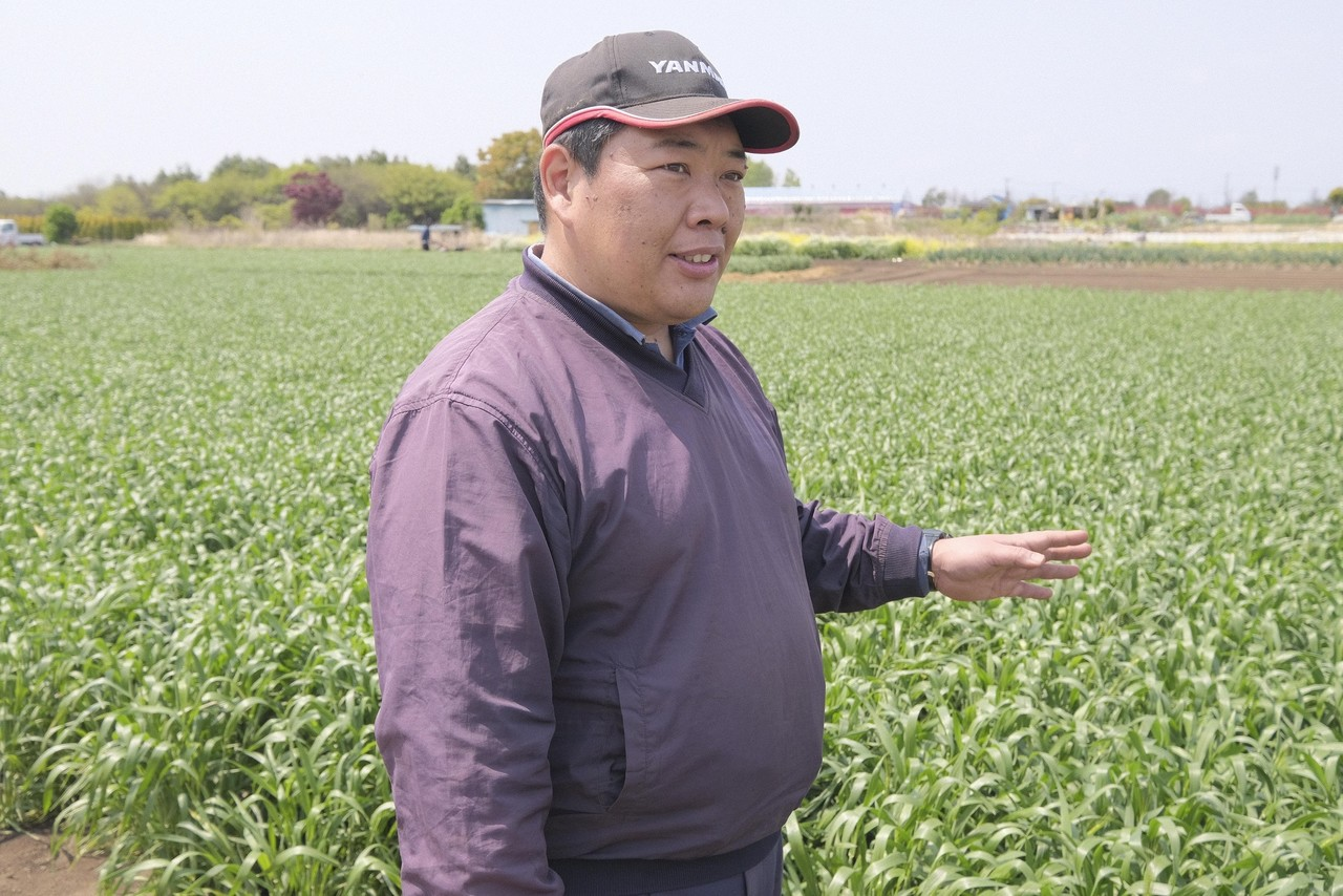 """「ヨコビの """"かお""""」連載スタート 横浜ビールには「伝えたい人」がいます! 記念すべき第1回目は瀬谷の小麦「岩﨑さん」"""